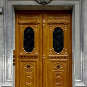 Porte cochère Paris Laiton Rue des Batignolles AM JUNG PAUL